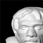Бюст неандертальца