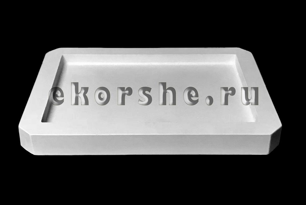 Гипсовый плинт для подсушивания глины